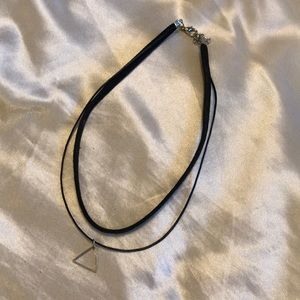 Jewelry - Choker with triangle
